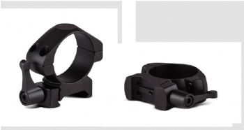 Konus QR Steel Rifle Scope Mount Rings Weaver Picatinny Rail - 30mm RING - LOW 7411